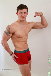 Fit Young Men Model Jason Taylor Naked Personal Trainer
