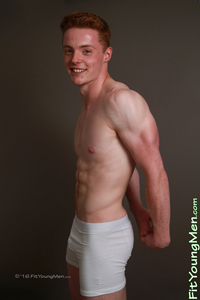 Fit Young Men Model Isaac Harrison Naked Personal Trainer