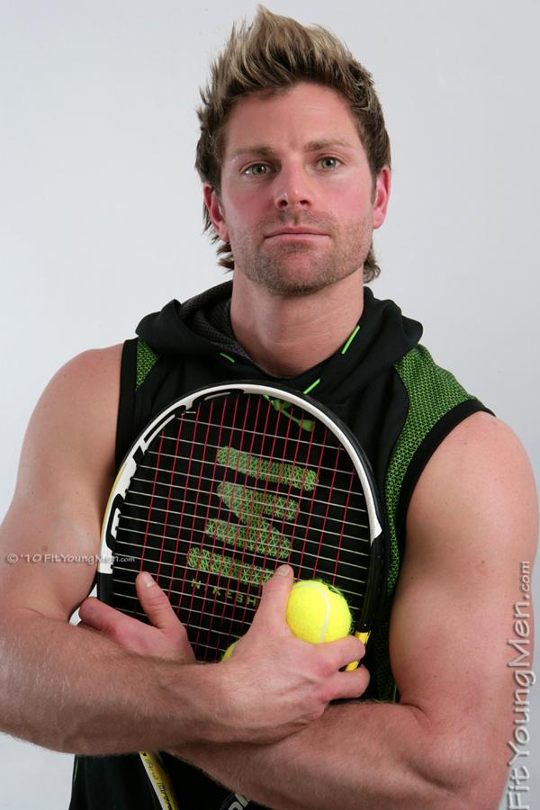 Fit Young Men: Model Ryan James - Tennis Player - Tennis ...