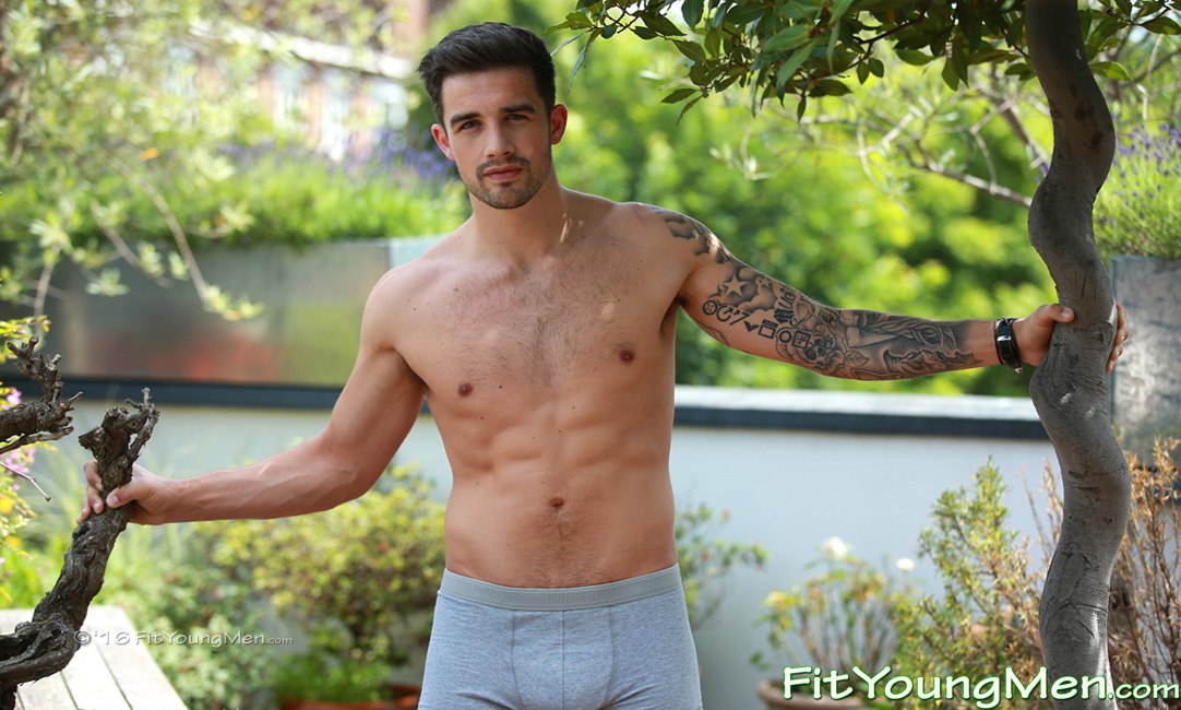 Tennis Player - Fit Young Men Naked - Athletic & Muscular